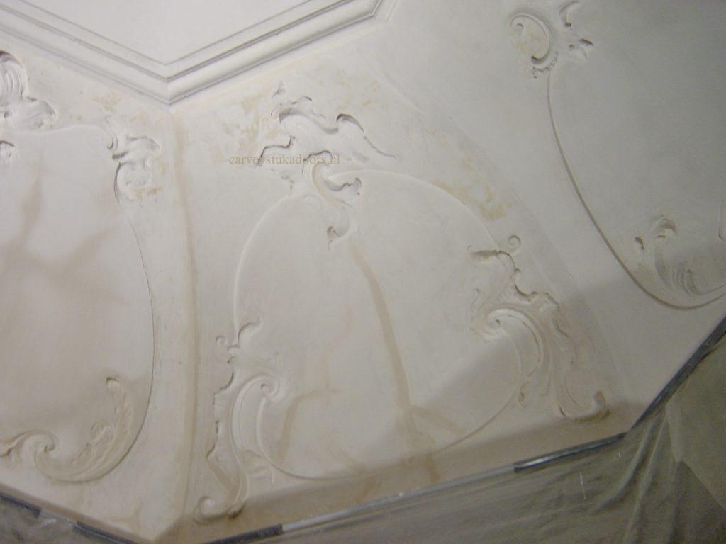 Thee huis Gerestaureerd plafond